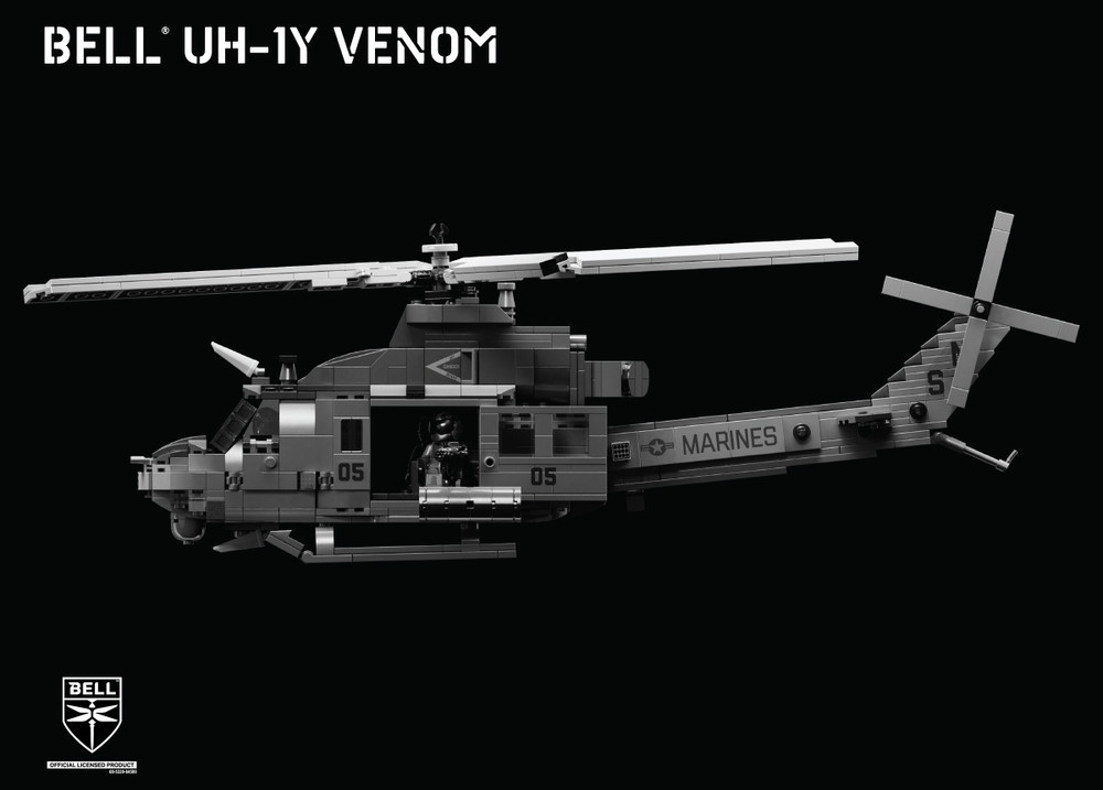 Bell® UH-1Y Venom – Medium Utility Helicopter