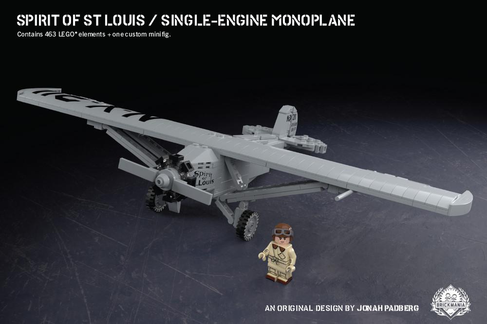 Spirit of St. Louis - Single-Engine Monoplane