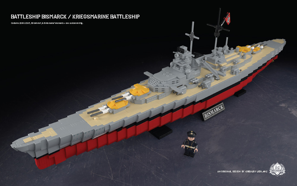 Battleship Bismarck - Kriegsmarine Battleship