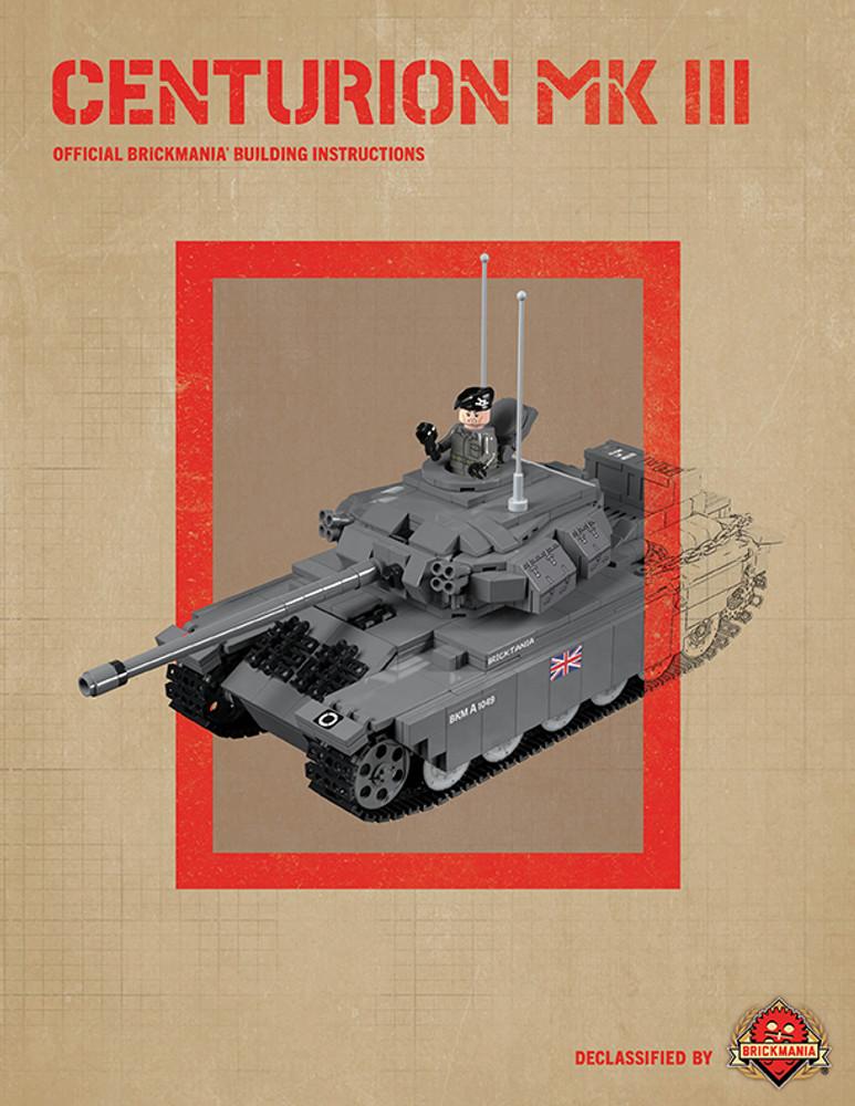 Centurion Mk III - Digital Building Instructions