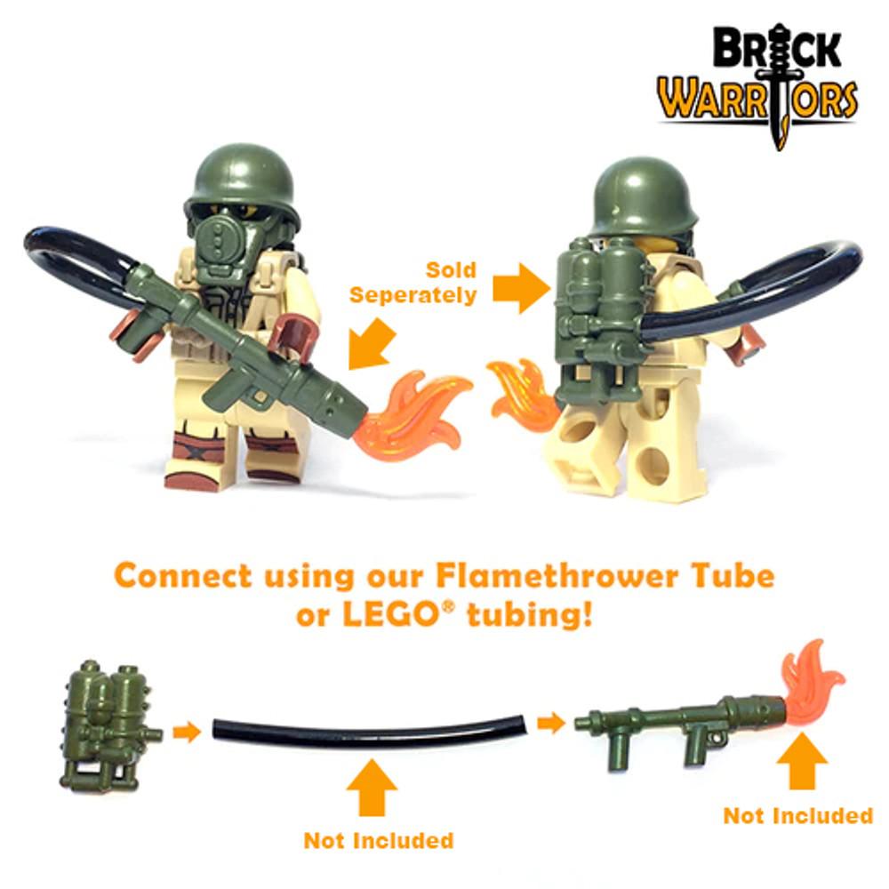 BrickWarriors British Flame Tank