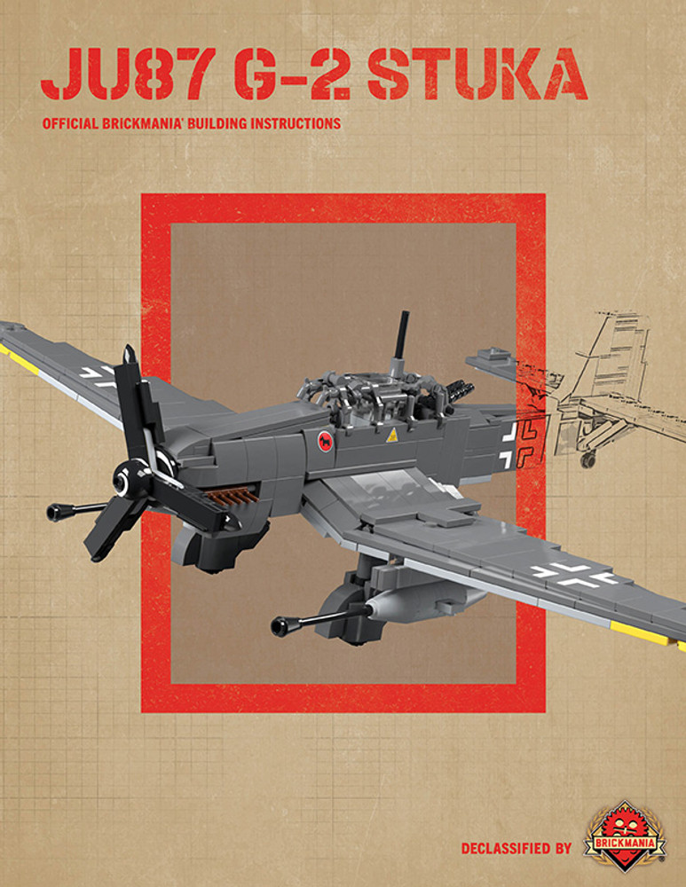 Ju87 G-2 Stuka - Digital Building Instructions
