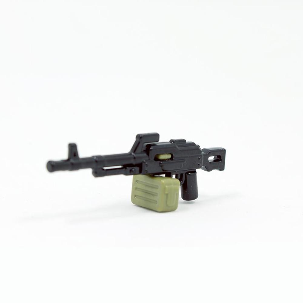 BrickArms® PKM W/ AMMO CAN (BLACK & OLIVE)