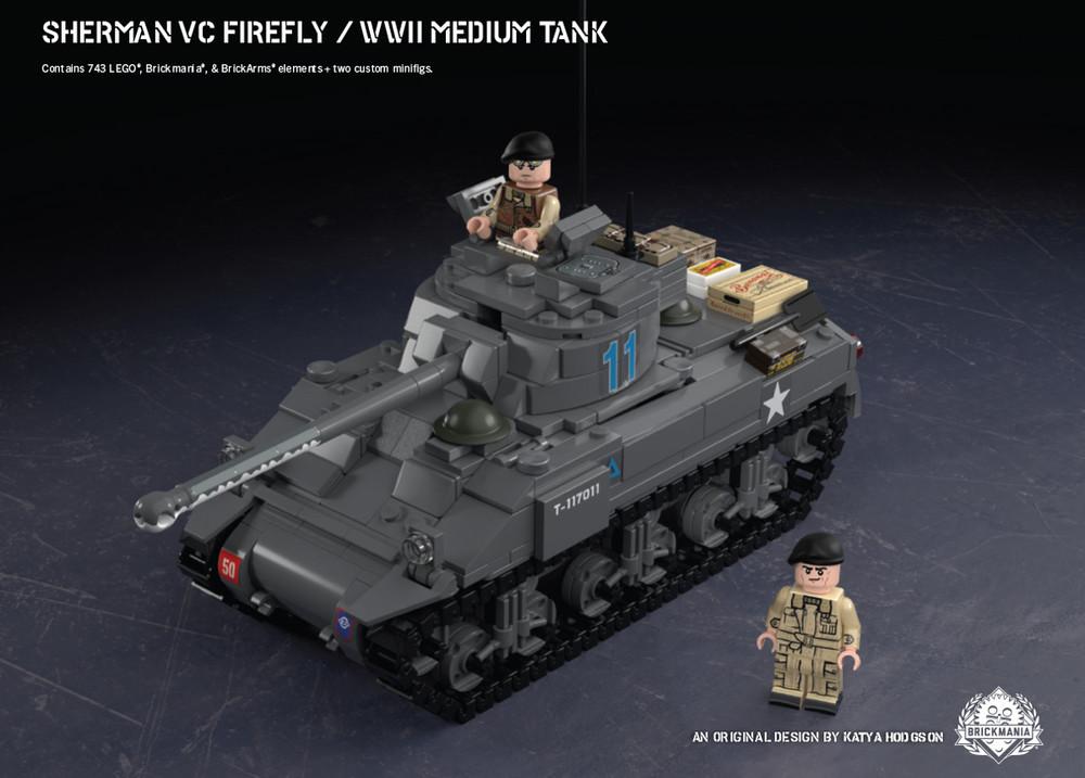 Sherman Vc Firefly – WWII Medium Tank