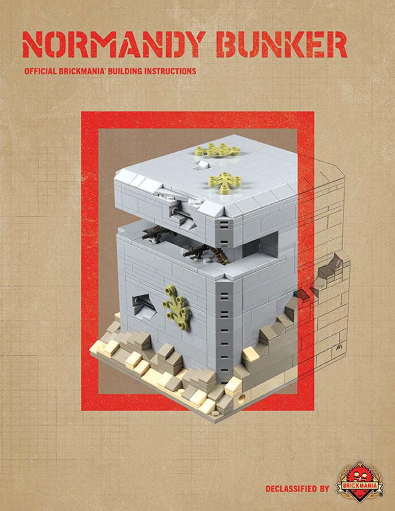 Normandy Bunker - Digital Building Instructions