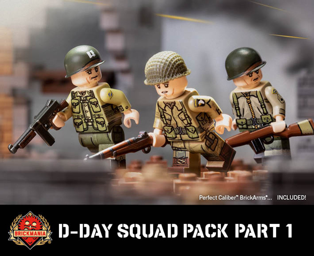 D-Day Squad Pack - Part 1