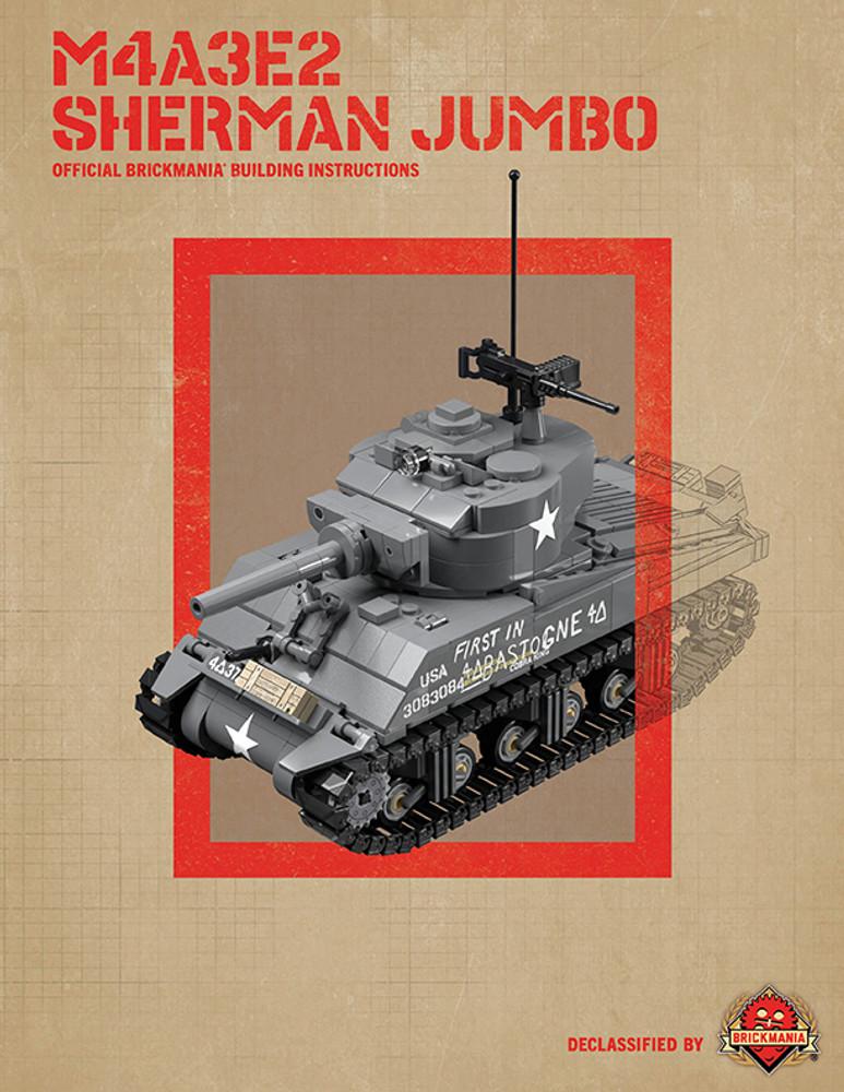 M4A3E2 Sherman Jumbo - Digital Building Instructions