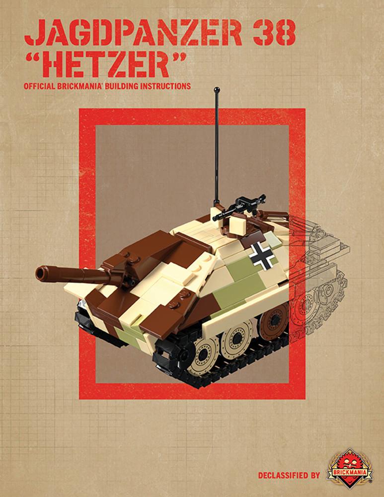 "Jagdpanzer 38 ""Hetzer"" - Digital Building Instructions"