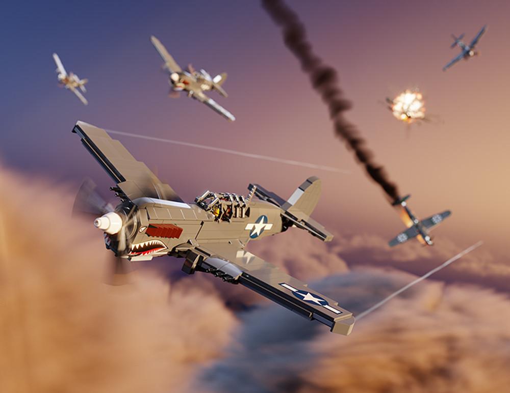 P-40N Warhawk - Digital Building Instructions