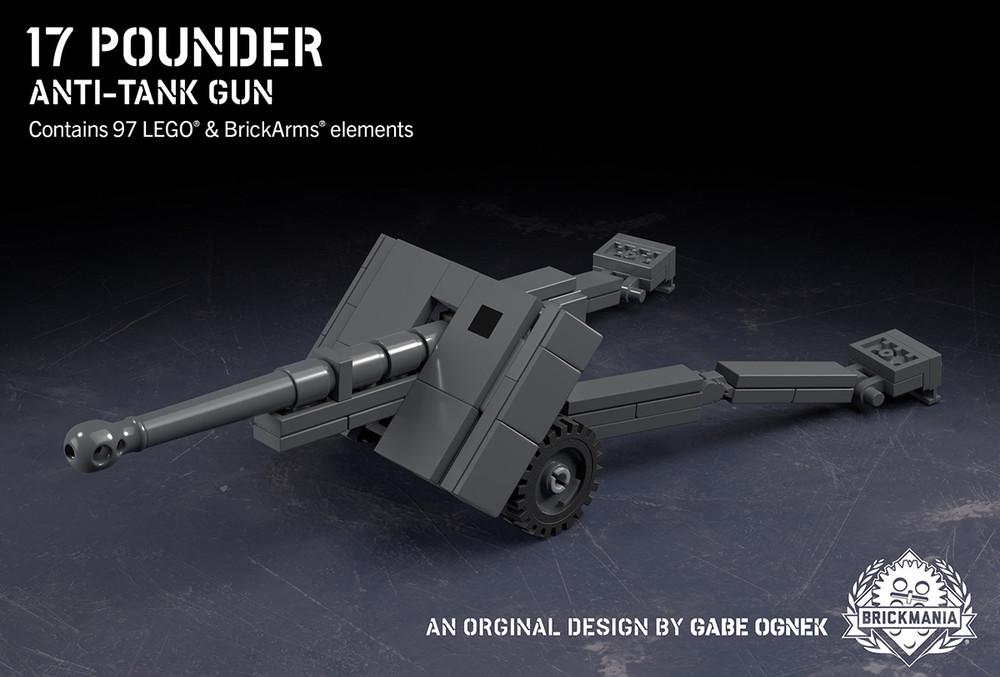 17 Pounder – Anti-Tank Gun