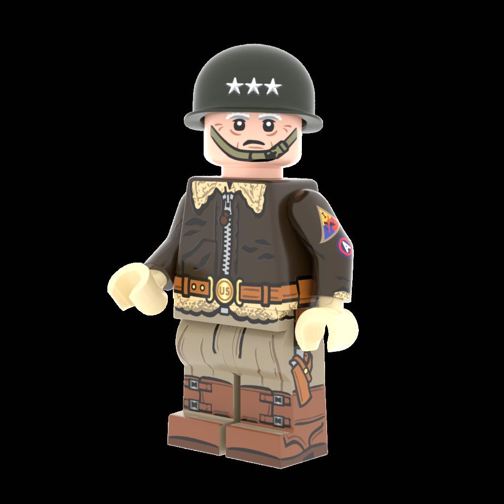 Patton's M4 Sherman - U.S. 3rd Army Medium Tank