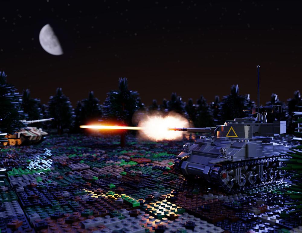 M4 Sherman + Add-Ons - Digital Building Instructions