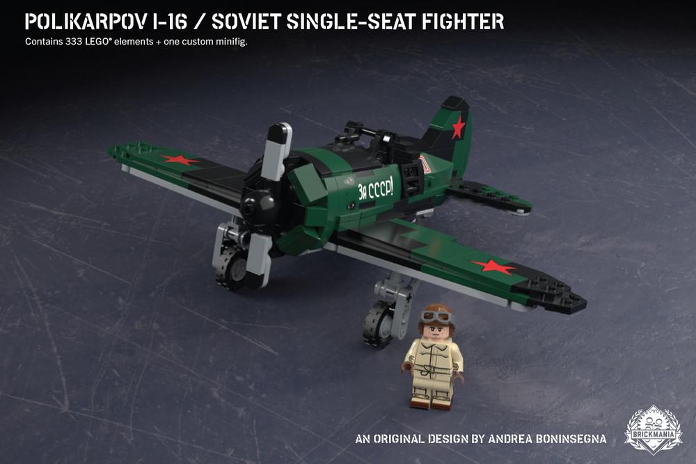 Polikarpov I-16 - Soviet Single-Seat Fighter