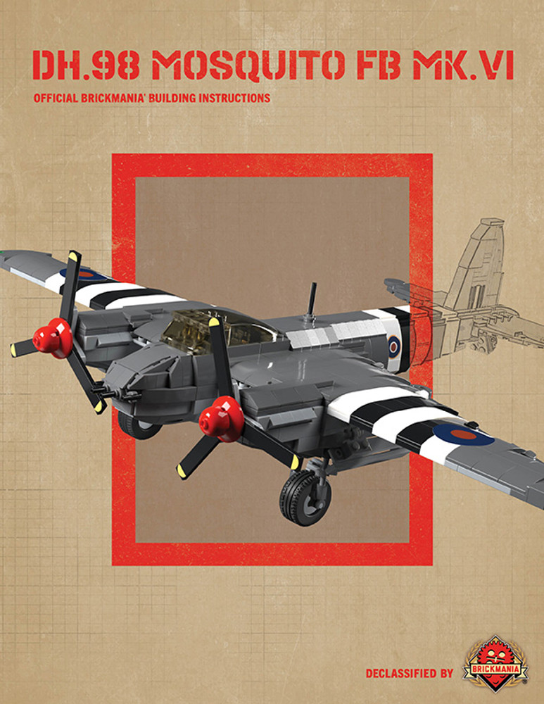 DH.98 Mosquito FB MK.VI - Digital Building Instructions