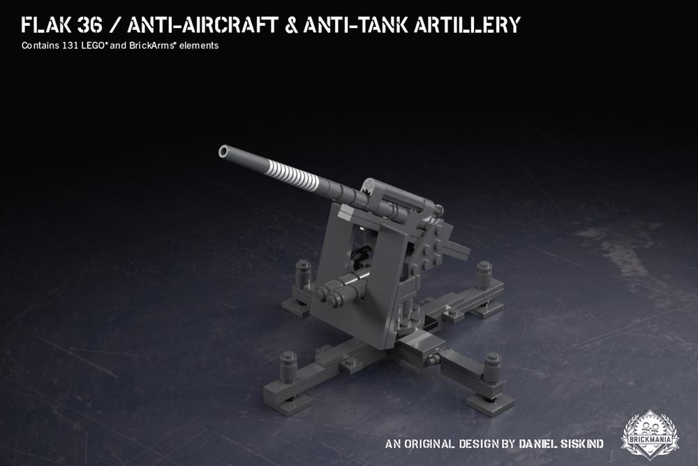 Flak 36 - Anti-aircraft & Anti-tank Artillery