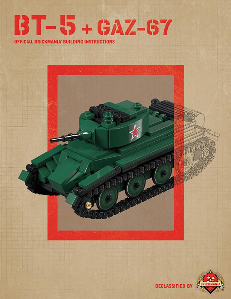 BT-5 + GAZ-67 - Digital Building Instructions