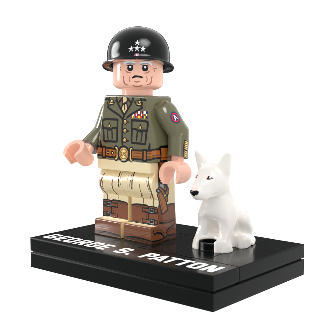 General Patton and Little Willie