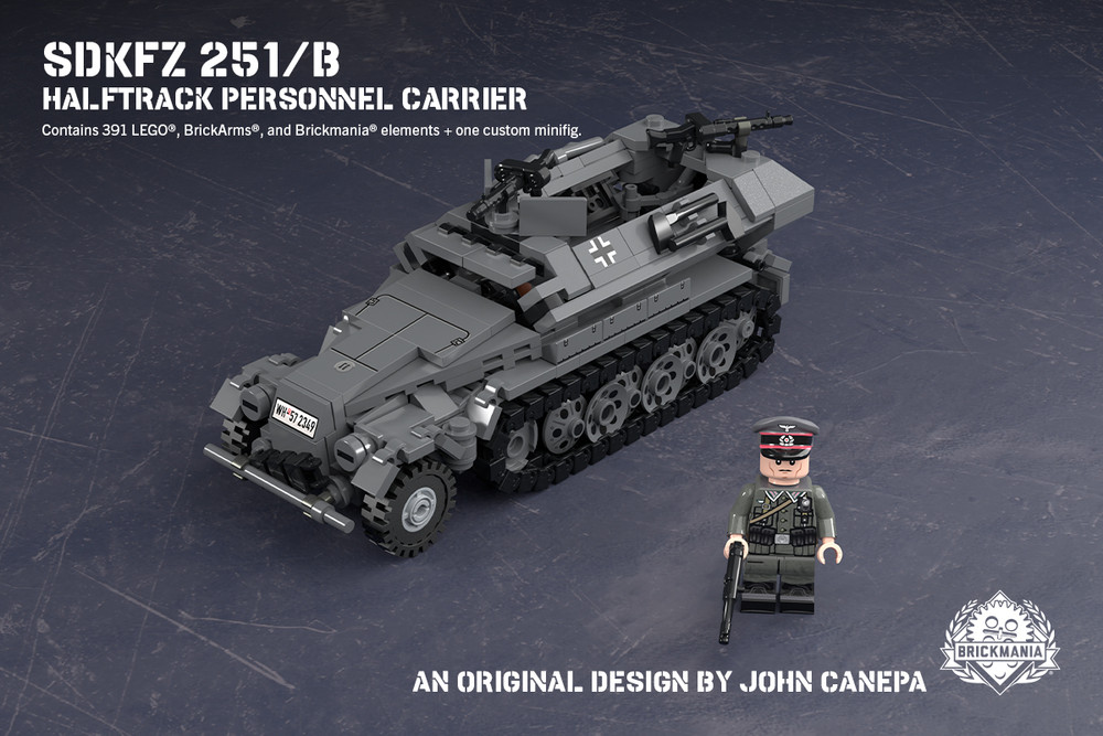 SdKfz 251/B – Halftrack Personnel Carrier