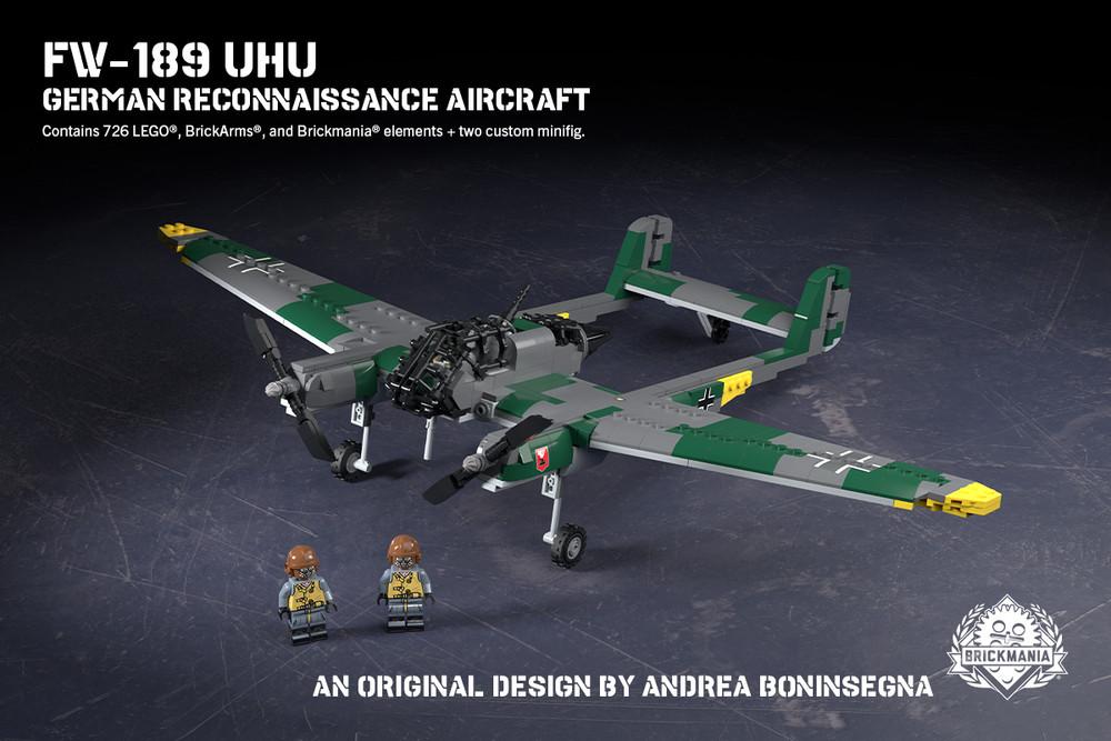 Fw-189 Uhu – German Reconnaissance Aircraft