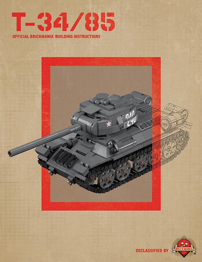 T-34/85 - Digital Building Instructions