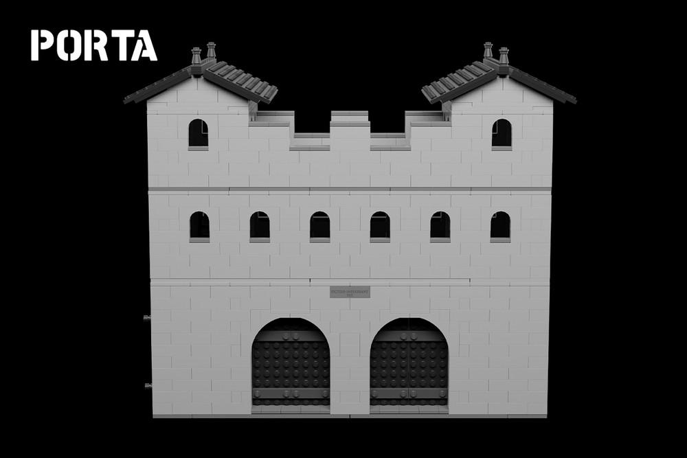 Porta - Roman Fort Gatehouse