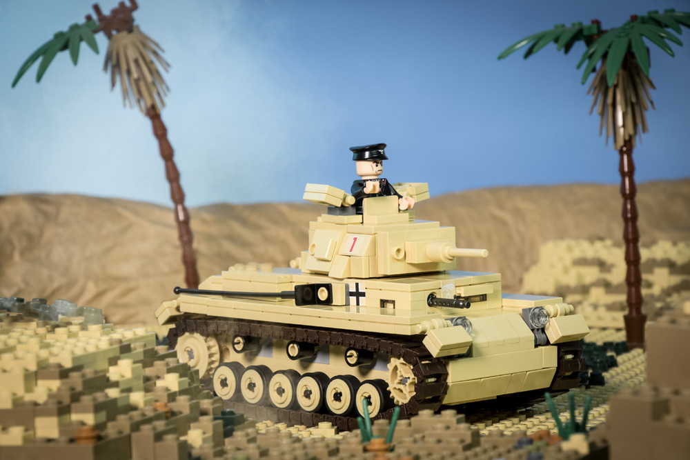 Panzer III Ausf E + Stug III Ausf G  & Panzer III Ausf M/N - Digital Building Instructions