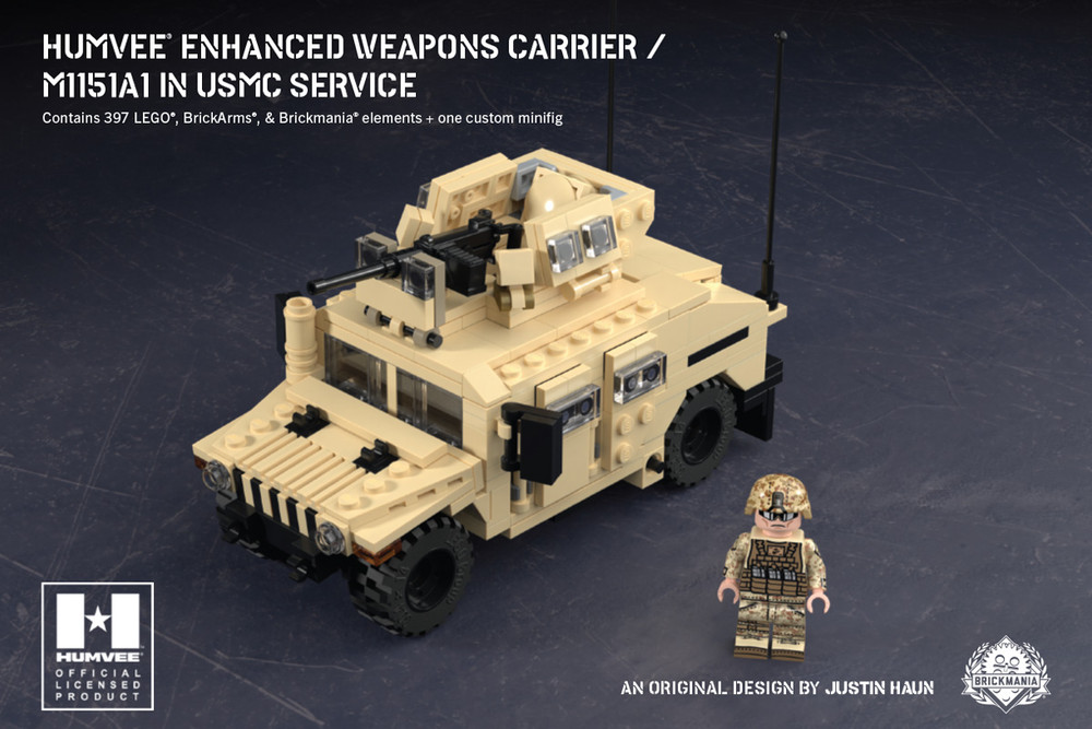 Humvee® Enhanced Weapons Carrier - M115A1 in USMC Service