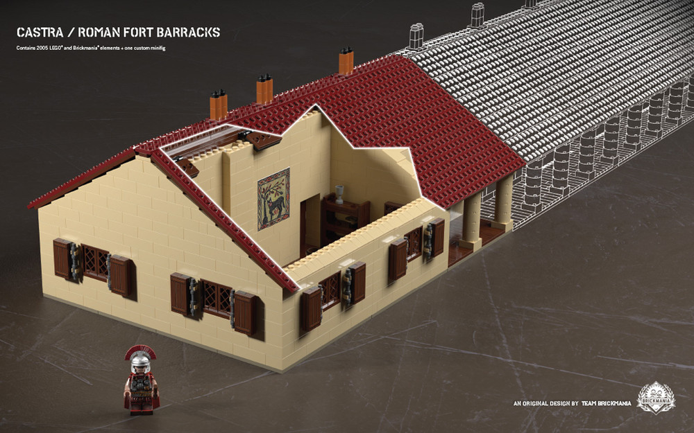 Castra - Roman Fort Barracks