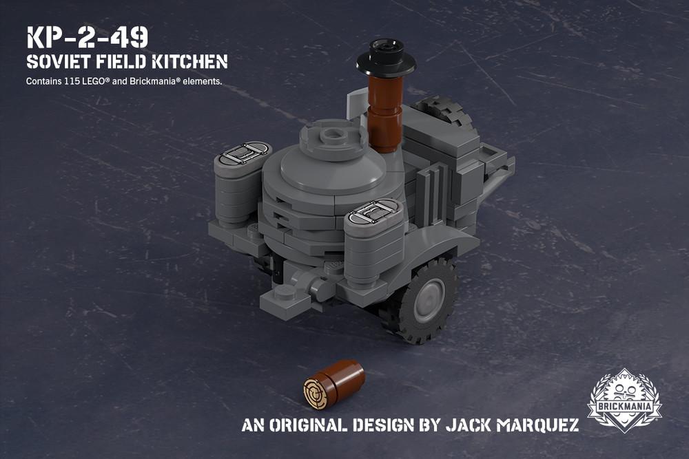 KP-2-49 - Soviet Field Kitchen