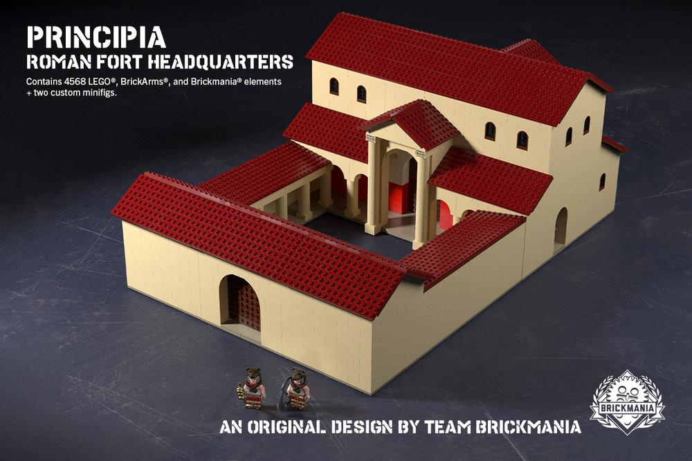 Principia - Roman Fort Headquarters