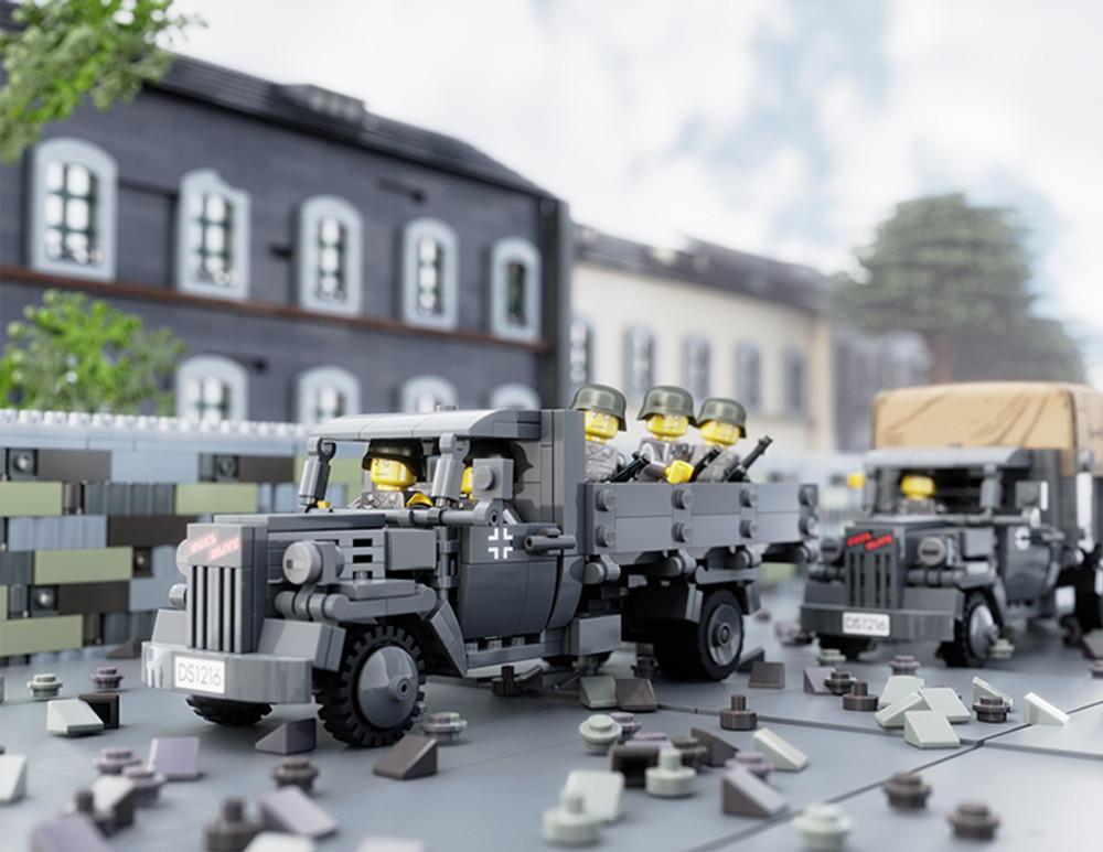 Opel Blitz - Digital Building Instructions