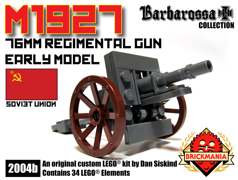 M1927 76mm Regimental Gun (Early Production)