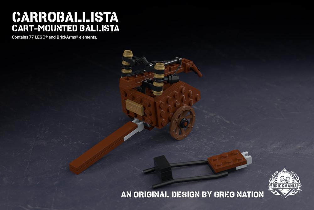 Carroballista - Cart-Mounted Ballista