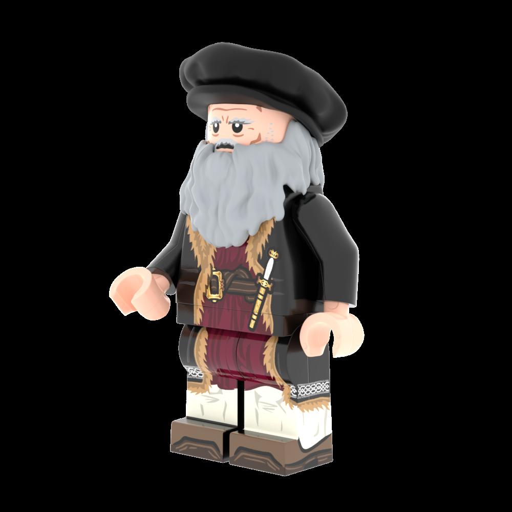 Da Vinci Inventions and Figure Pack
