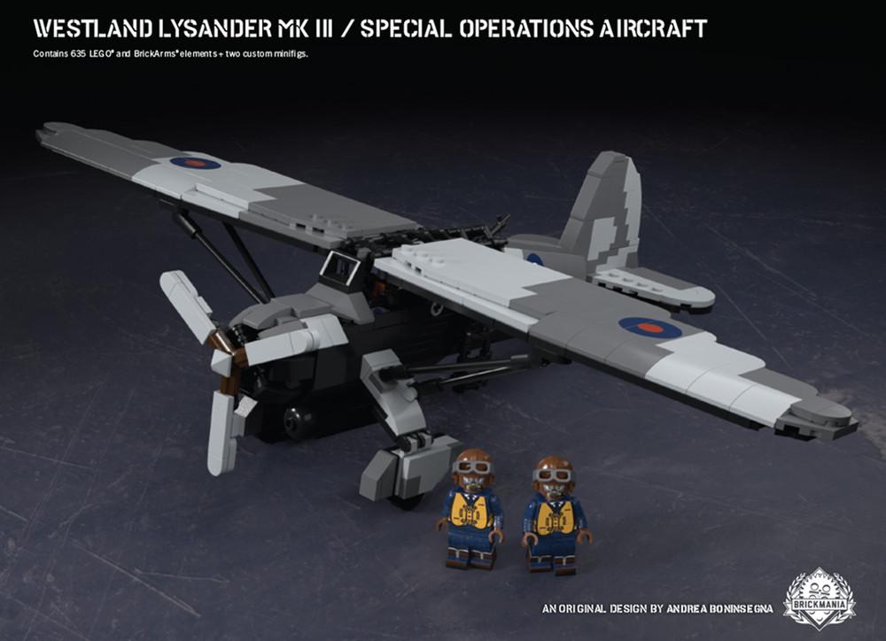 Westland Lysander Mk III – Special Operations Aircraft