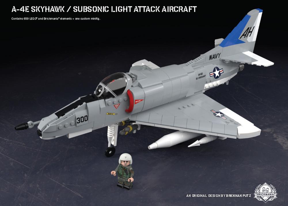 A-4E Skyhawk – Subsonic Light Attack Aircraft