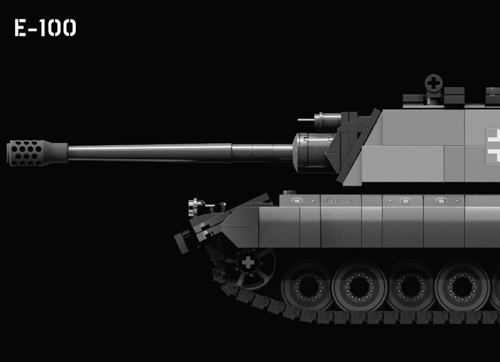 E-100 – German Super Heavy Tank