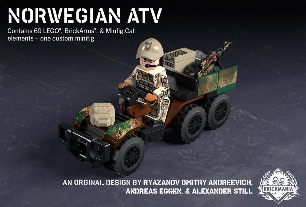 Six-Wheel ATV – Norwegian Special Forces