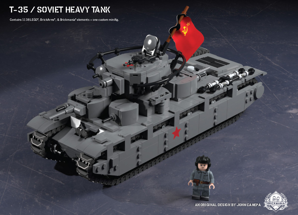 T-35 – Soviet Heavy Tank