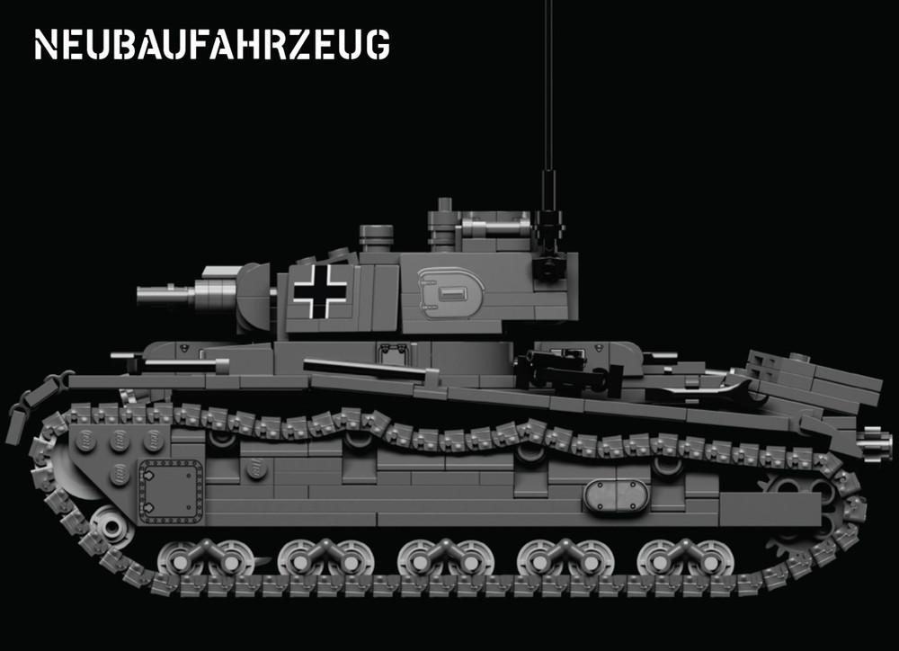 Neubaufahrzeug – German Medium Tank