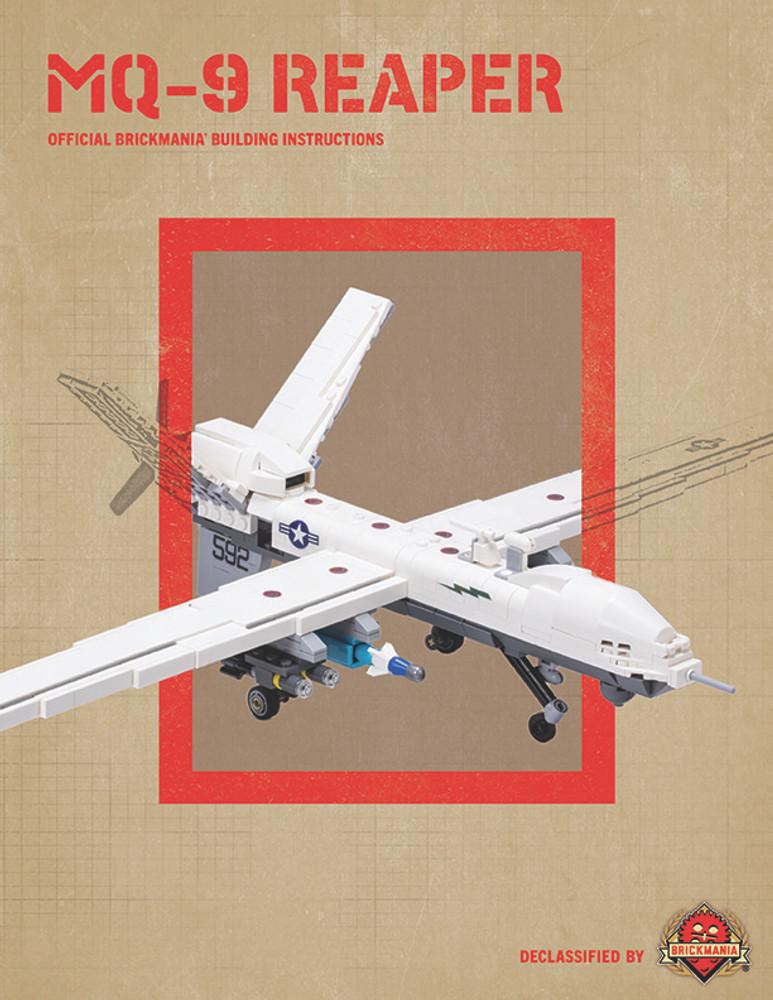 MQ-9 Reaper - Digital Building Instructions