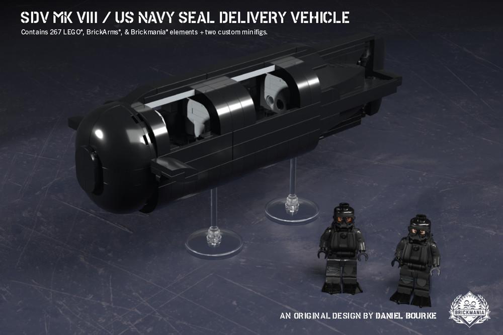 SDV Mk VIII – US Navy SEAL Delivery Vehicle