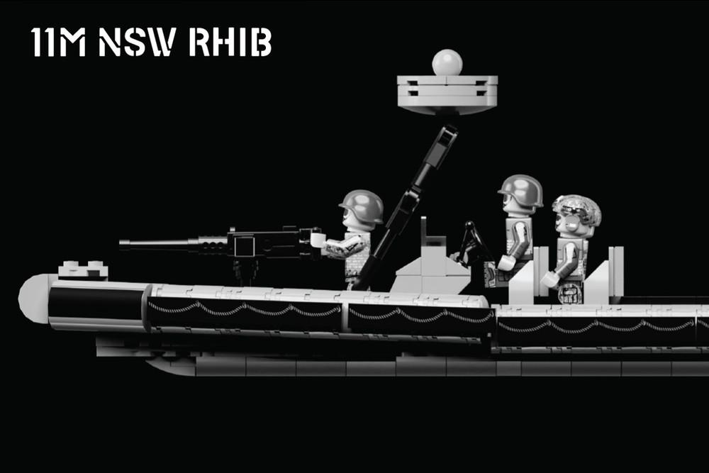 11M NSW RHIB – Rigid Hull Inflatable Boat