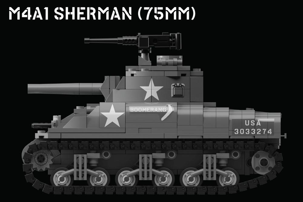 M4A1 Sherman (75mm) – Allied Medium Tank