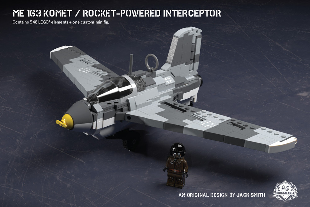 Me 163 Komet – Rocket-Powered Interceptor