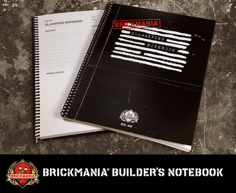 Brickmania Builder's Notebook