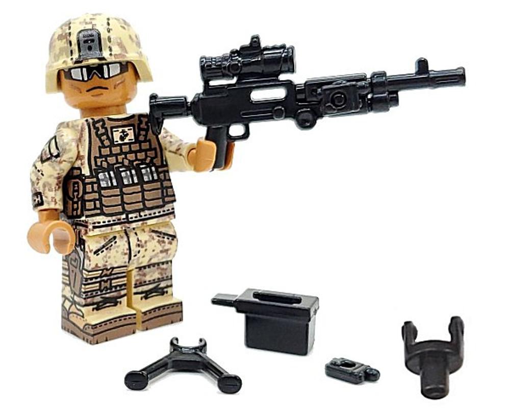 BrickArms® M240B-USMC w/PEQ + Bipod & Ammo Can