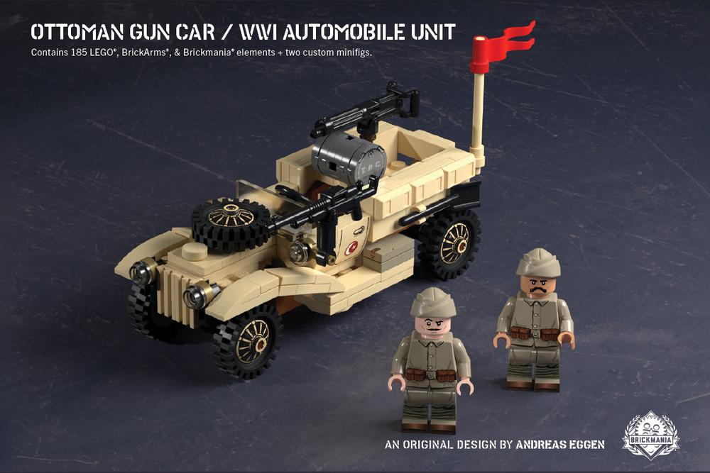 Ottoman Gun Car – WWI Automobile Unit