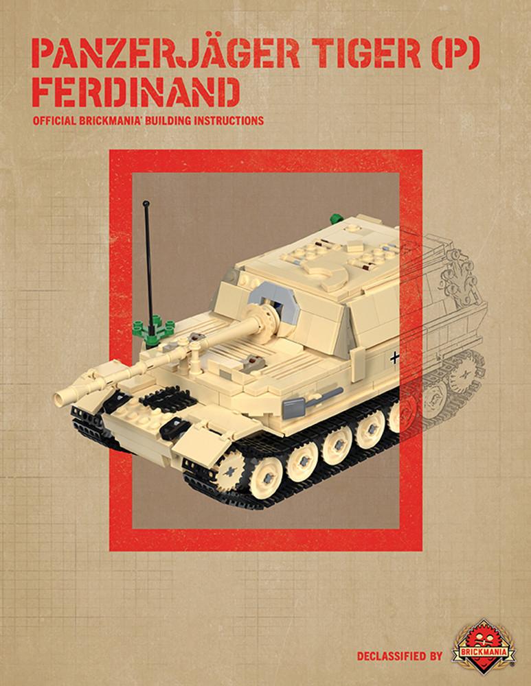 Panzerjäger Tiger (P) Ferdinand - Digital Building Instructions