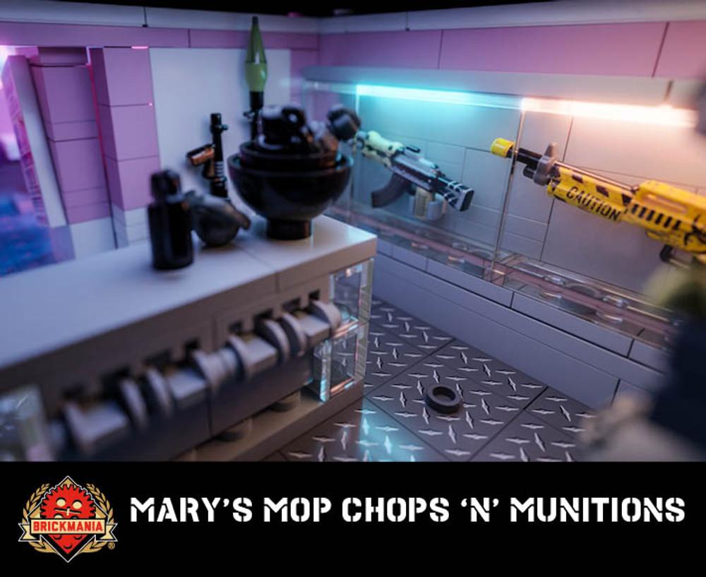 Mary's Mop Chops 'n' Munitions - Brickmania Randoverse